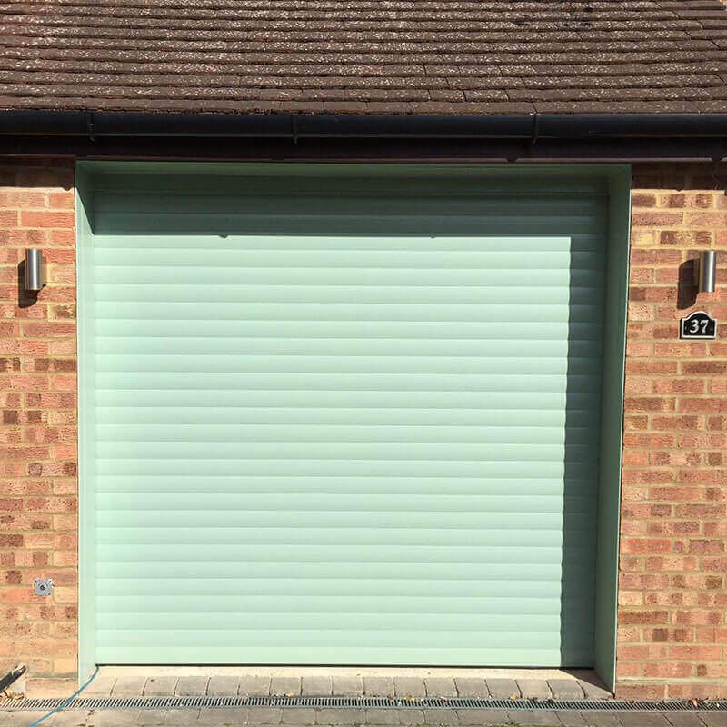 Aluminium double skinned insulated roller garage doors